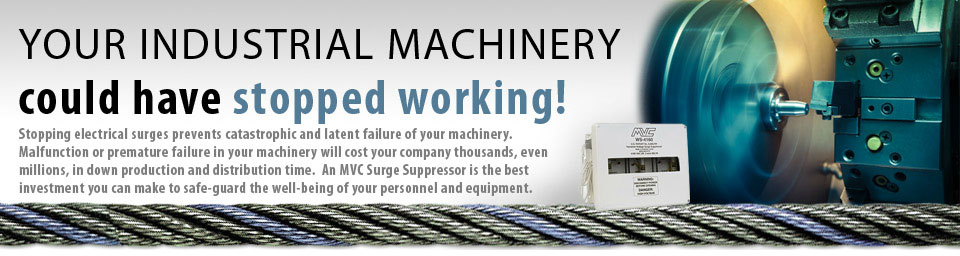 Your industrial machinery could have stopped working